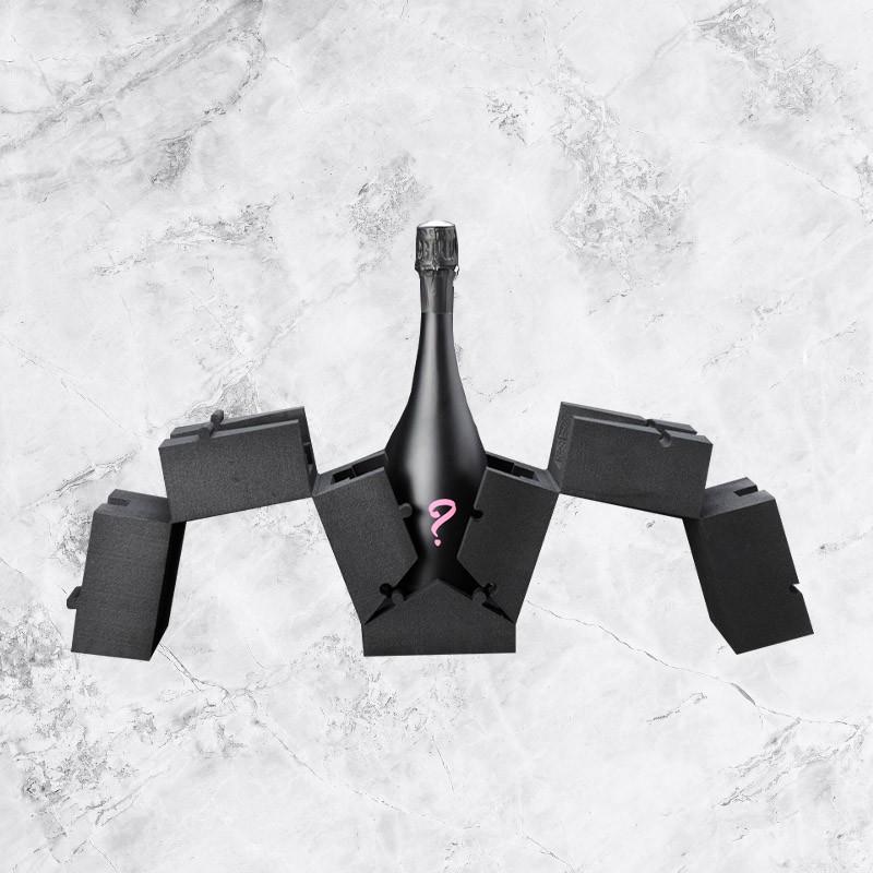 Coffret Bouteille de Champagne Rosé Secret 75cl.